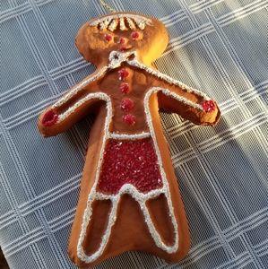 Vintage Mr. Christmas Gingerbread Ornament